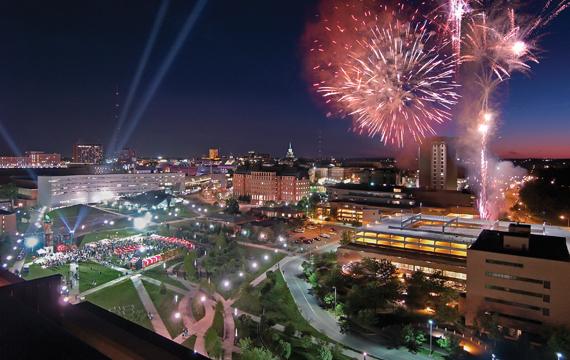 The University of Cincinnati in Cincinnati